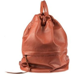 Will Leather Goods cloud backpack cognac